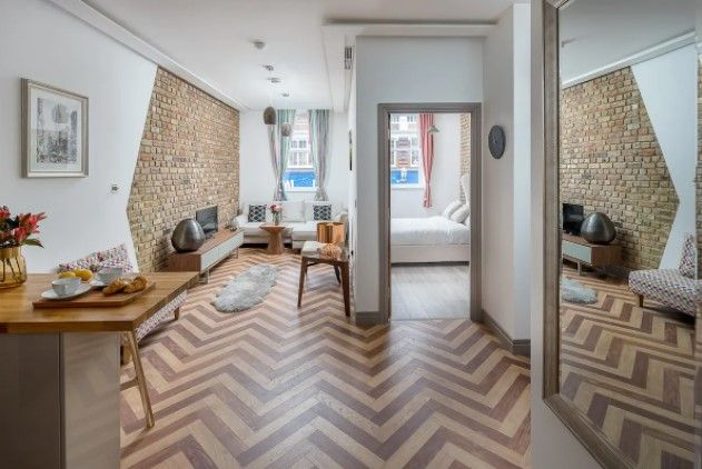 Elegant Modern 1 Bed Flat In London Apartments For Rent In Greater London Cheap Apartments In London Central London Apartments London Vacation