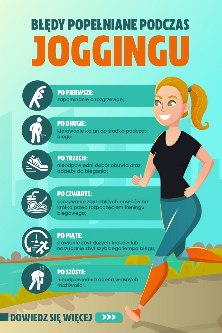 Najczesciej Popelnianie Bledy Podczas Joggingu Jogging Fitness Workout