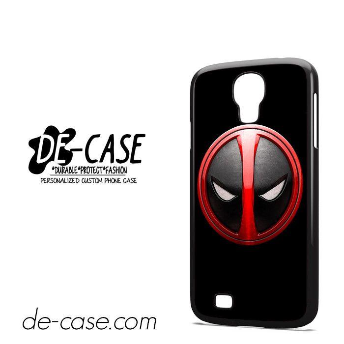 Deadpool Emblem DEAL-3096 Samsung Phonecase Cover For Samsung Galaxy S4 / S4 Mini