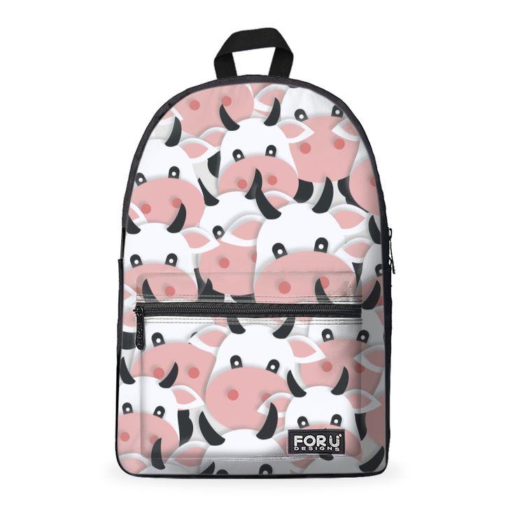 Herd of Cartoon Cows