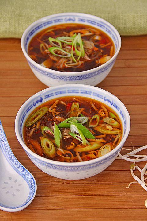 Bihunsuppe, ein gutes Rezept aus der Kategorie Koc…