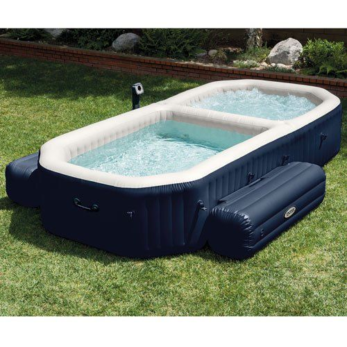 Intex PureSpa Bubble Spa With Pool   Intex Superstore Http://www.intheswim