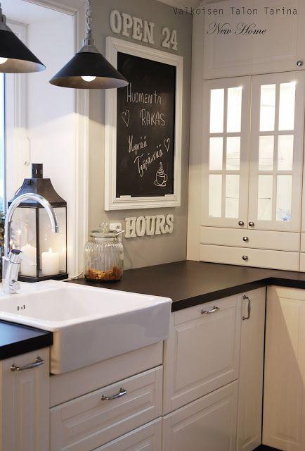 Valkoisen talon tarinan keittiötä