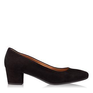 Pantofi dama negri 4192 piele intoarsa