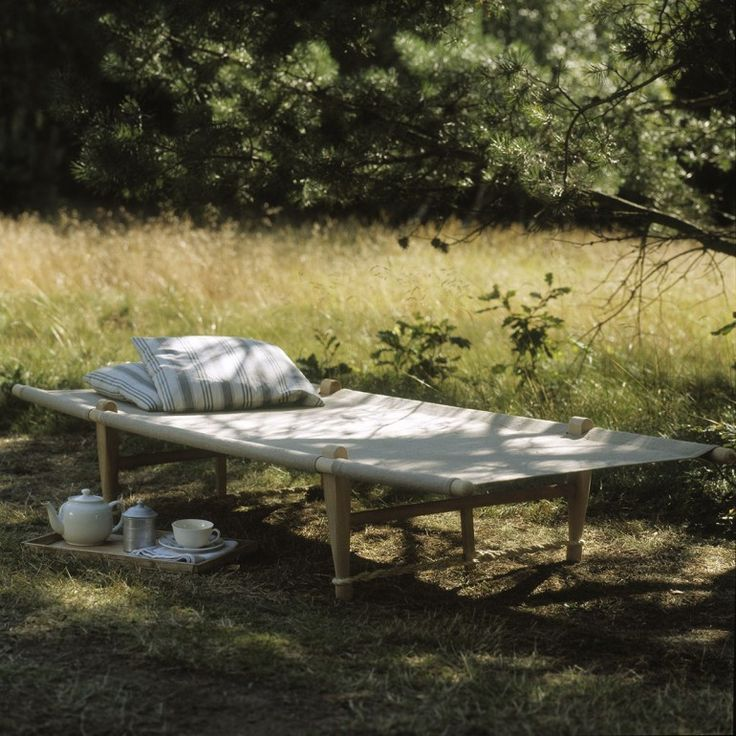 Lit de camp OGK Naturel via Goodmoods