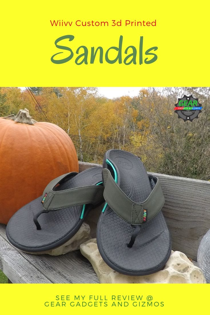 6486dc078 The Wiivv Sandal is a custom made 3D printed sandal that is incredibly  comfortable to wear. They are a custom orthopedic sandals that can be  bought online.