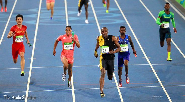 男子400メートルリレー、日本は銀メダルを獲得しました!(達) #Rio2016 #リオ五輪 #陸上 #Silver #山県亮太 #飯塚翔太 #桐生祥秀 #ケンブリッジ飛鳥