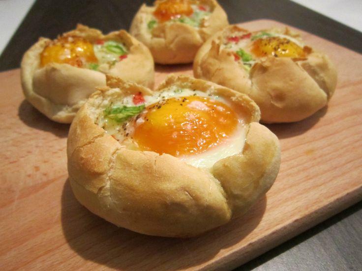 Gebakken ei in een broodje | lindsayscooking.nl
