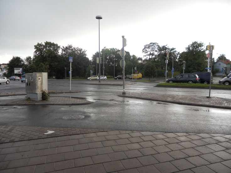 Turku, Finland, Gas Station