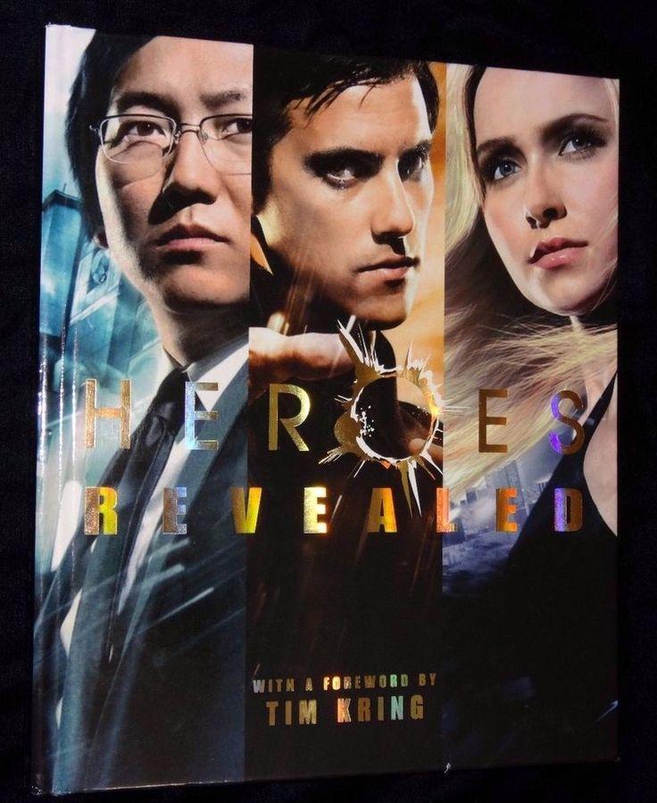 Heroes Revealed Michael Goldman New Hardcover 2009 Book Featuring Seasons 1 2 3