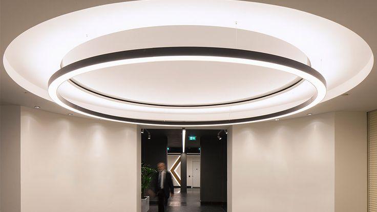 Освещение офиса от Nulty в современном лондонском офисе было недавно выполнено в…