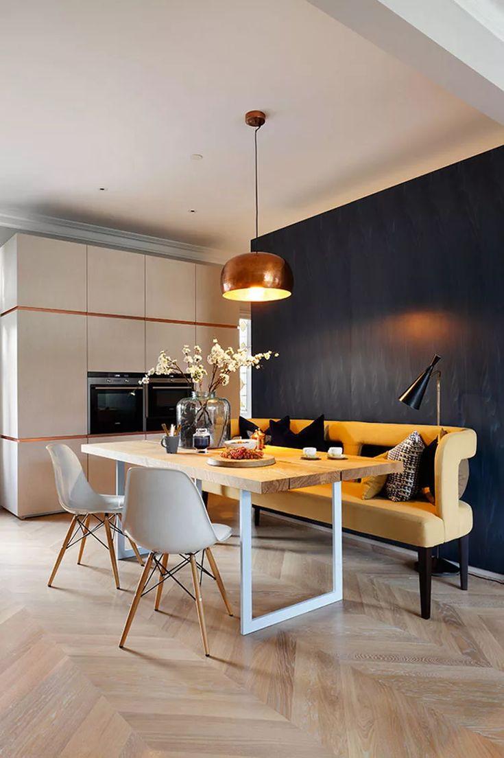 Panche e Sedie di Design per Tavolo da Pranzo: 30 Idee di ...