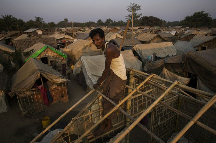 """Death Stalks Muslims as Myanmar Cuts Off Aid - Quotation of the Day: """"If these conditions continue, all the babies will die."""" — U Maung Maung Hla, a volunteer medical assistant at a clinic for Rohingya Muslims, a persecuted minority, in Myanmar."""
