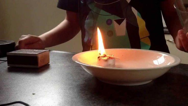 Proefje met vuur
