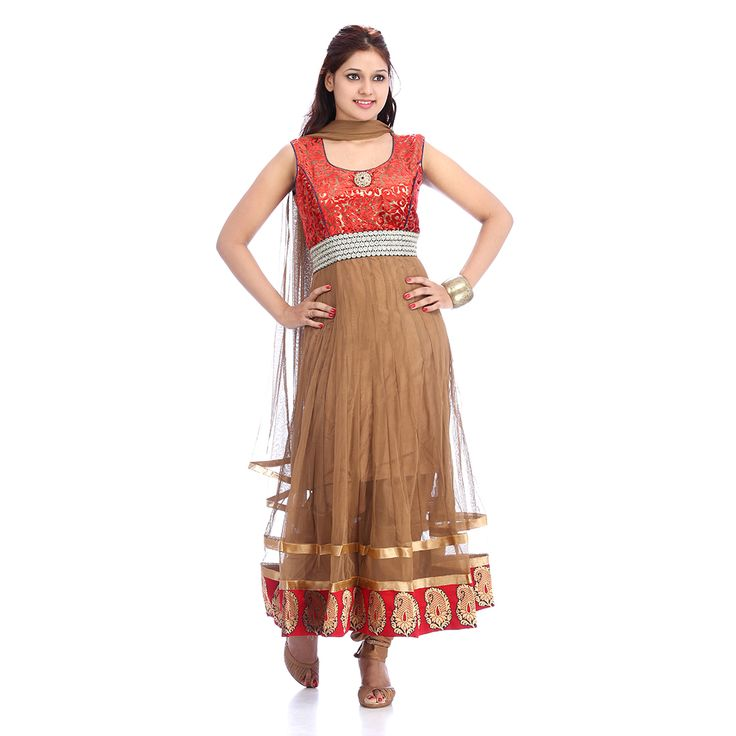 Designer #Anarkali #Suit Which Gives #Ethnic Look