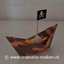 Afbeelding van de traktatie Piratenbootje