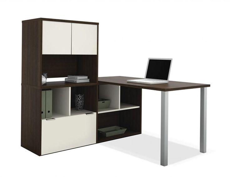 office desk shelf. Office Desk Shelf 3pc L Shape Modern Contemporary Executive Set Becopl4