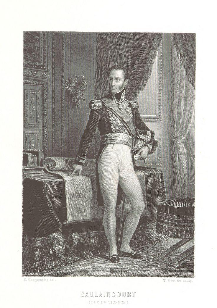 Armand Augustin Louis de Caulaincourt - Image taken from page 211 of 'Histoire du Consulat et de l'Empire, faisant suite à l'Histoire de la Révolution Française'