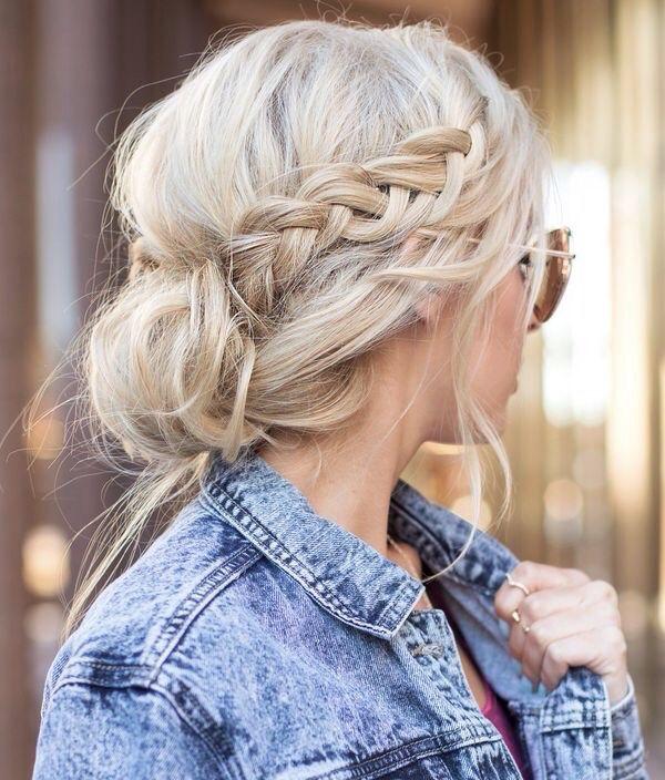 Magnificent 1000 Ideas About Side Bun Hairstyles On Pinterest Side Buns Short Hairstyles Gunalazisus