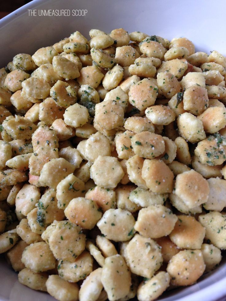 Italian Snack Crackers - Perfect Holiday Snack Food