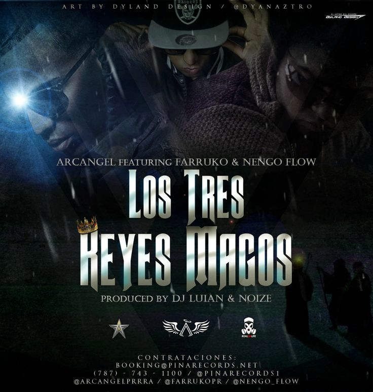 Arcangel Ft Farruko & Ñengo Flow - Los 3 Reyes Magos (Prod. By DJ ...