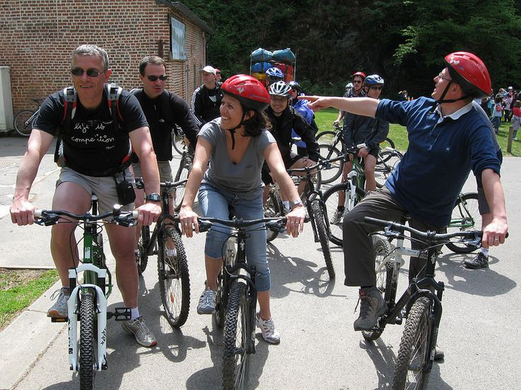 Epreuve d'orientation en vélo ! Toujours un bon moment de complicité ! #teambuilding #experience #fun