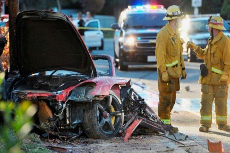 El actor de la saga 'Rápido y furioso' falleció en noviembre de 2013 cuando su automóvil Porsche Carrera GT de 2005 se estrelló contra un árbol.