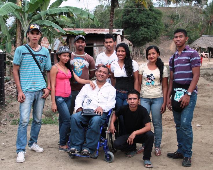 El grupo de teatro de Pueblo Bello