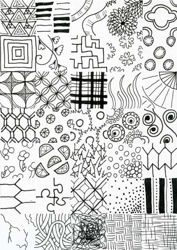 how to doodle art