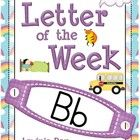 Phonics Letter of the Week Bb {FREE}  I have made this Phonics Letter of the Week unit to address the Kindergarten(Prep) level of learning. The con...