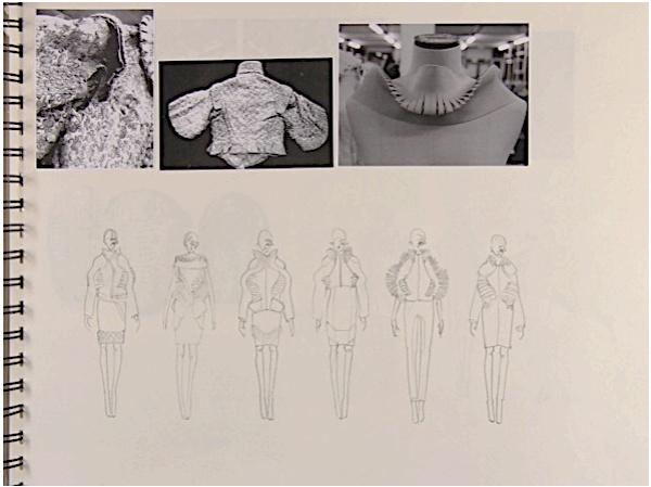 Fashion Sketchbook - fashion design drawings; fashion portfolio // Hana Rutledge