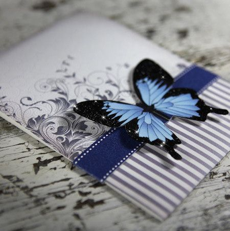 Butterfly Wedding Invitation