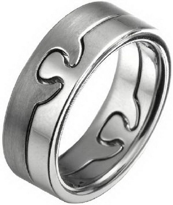 wedding bands puzzle - Puzzle Wedding Rings