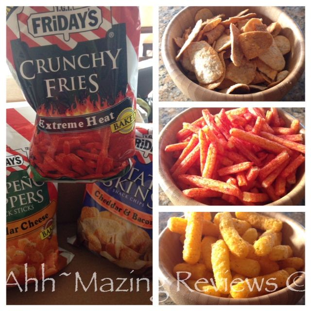 TGI Fridays Snack Line ~ an easy, tasty way to entertain! {Review & Giveaway ~ US} http://ahhmazingreviews.com/?p=17375#comment-21941