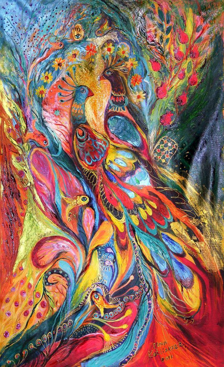 Saatchi Art Artist Elena Kotliarker Painting Ldquo Falling In