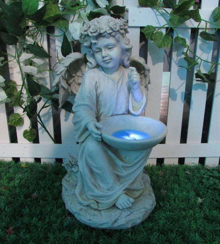 Solar Garden Angel....Coming to a garden near you this summer!!