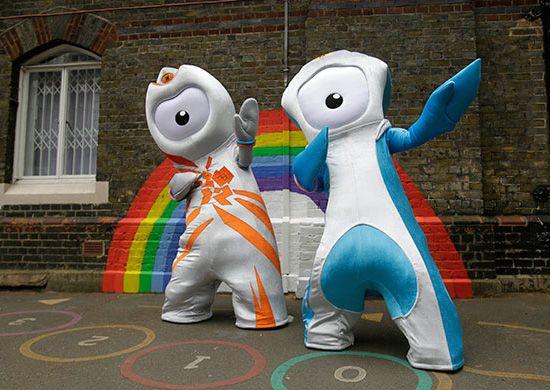 2012 london olympics mascots