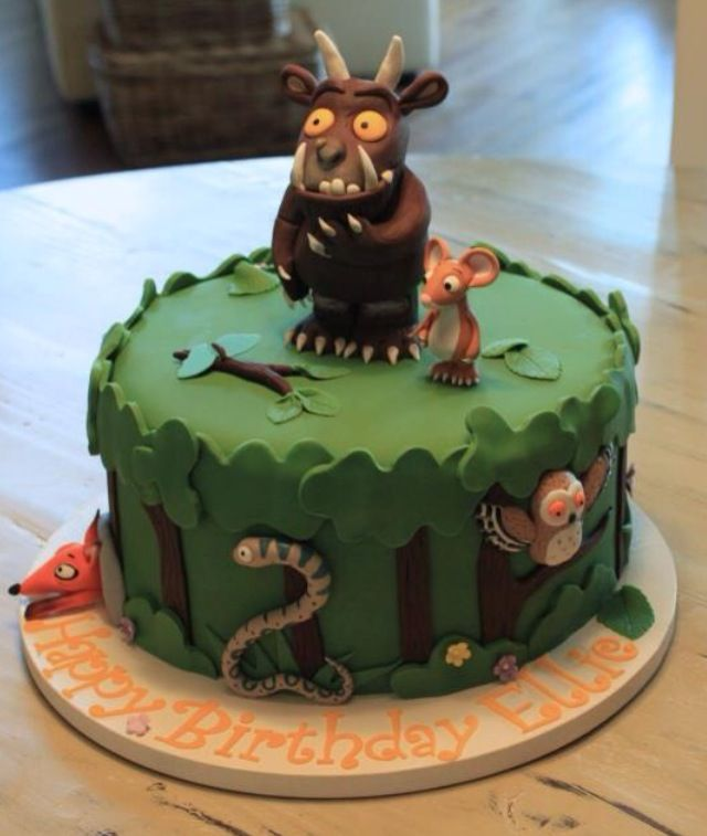 Gruffalo cake