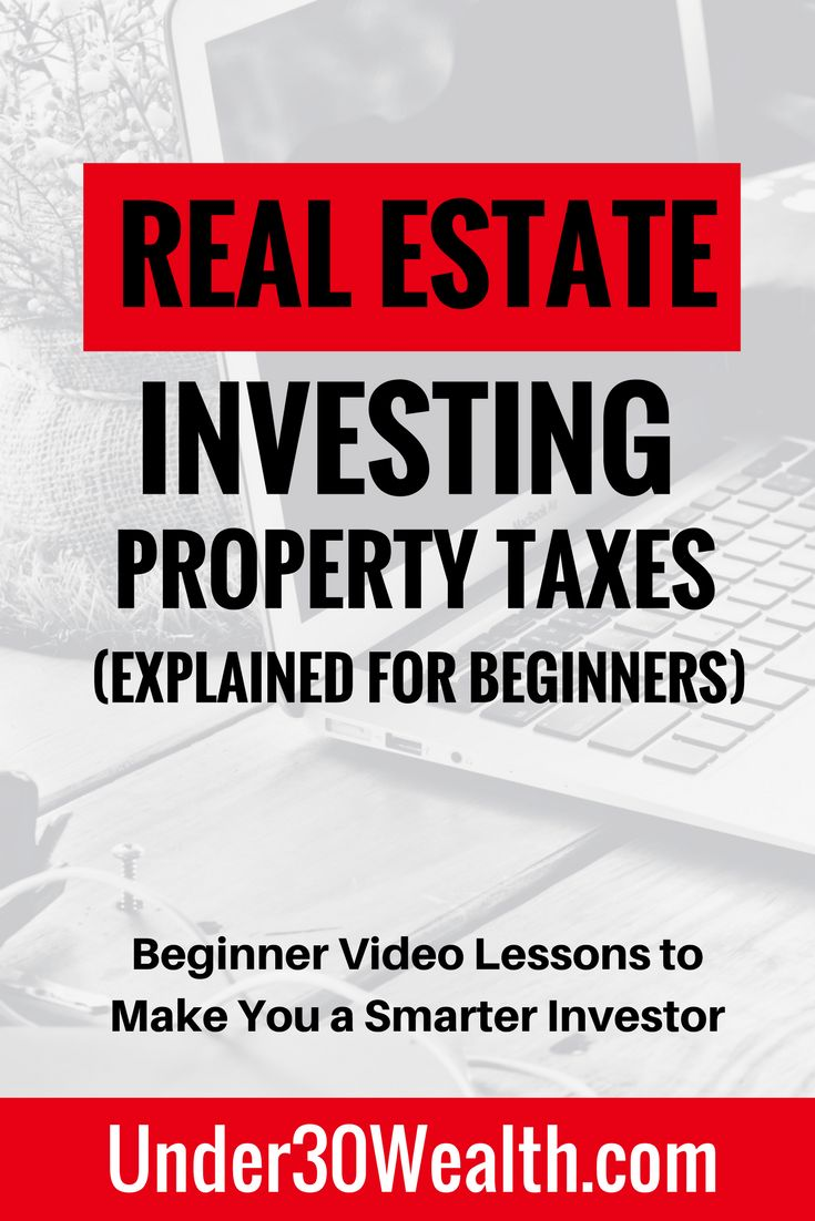 Real estate investing tips for beginners on property taxes and how they are calculated as well as how the tax is distributed to the city schools and projects as part of the property tax budget plan. Learn how to use property taxes in the investment analysis stage to determine return on investment. Click to watch this video lesson and subscribe to the YouTube channel or hit save to share this pin!