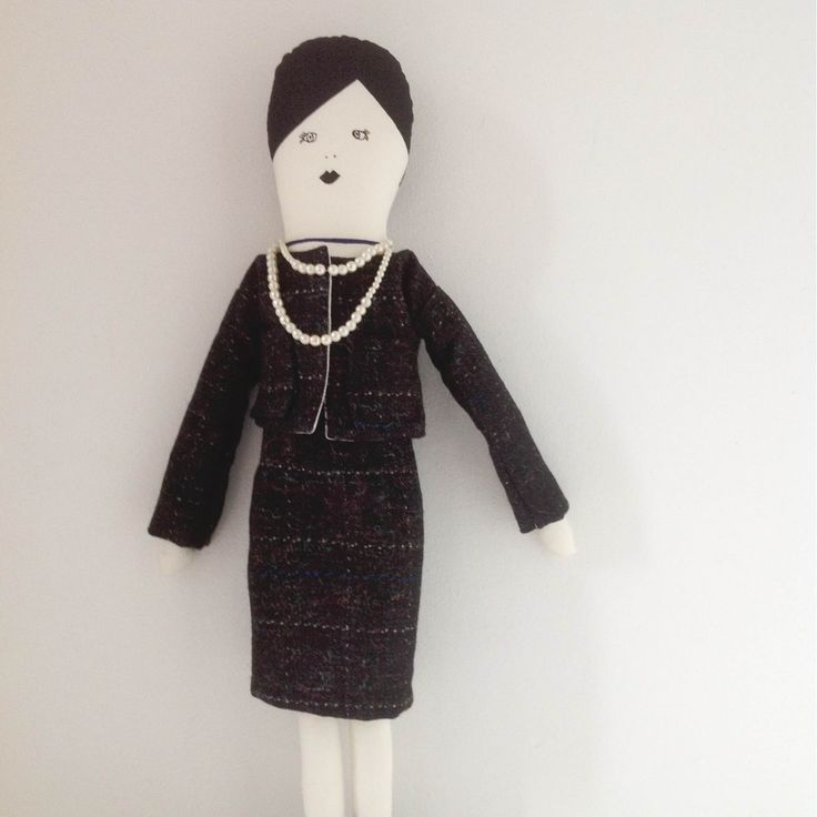 Coco Chanel Outfit For My Paris Doll By Www.mikodesign