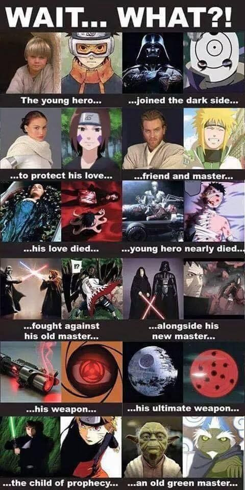 NARUTO SHIPPUDEN with STAR WARS
