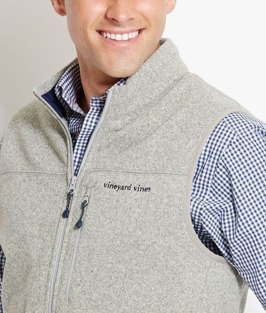 The Angler Vest is the BEST! We have it in Navy and Heather Gray!  (It's out of stock online) 12/15/14