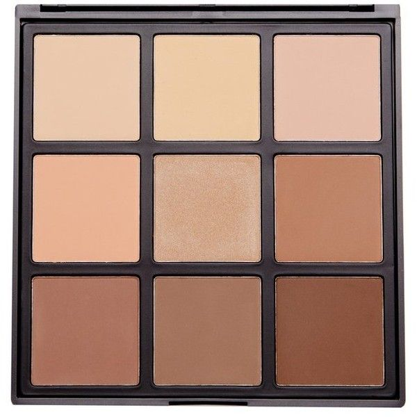9C 9 COLOR HIGHLIGHT/CONTOUR PALETTE Morphe ($23) ❤ liked on Polyvore featuring beauty products, makeup, face makeup, beauty, accessories, fillers, palette makeup, morphe makeup, morphe cosmetics and highlight makeup