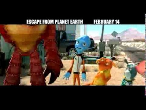 Escape From Planet Earth Prize Pack & $25 Visa Gift Card Giveaway   Ends 2.8.13
