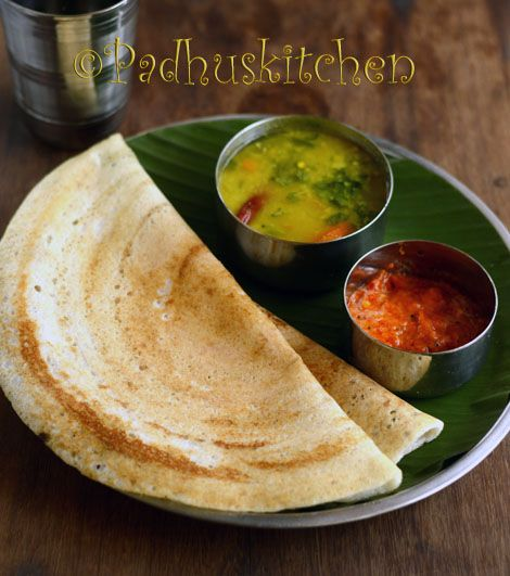 4 in 1 Batter recipe -Make appam on the first day, dosa on the second day, sweet and savory paniyaram on the third day.Sounds great isn't it? Click the link to find out more