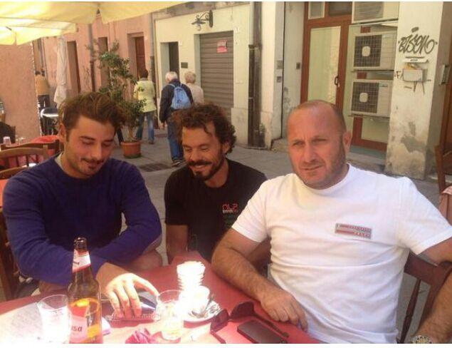 Michele Zambelli, Gaetano e Max Sirena a Cagliari