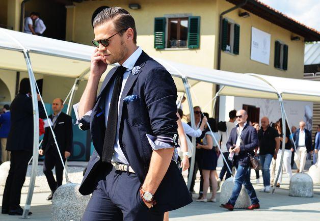 Suit as casual wear