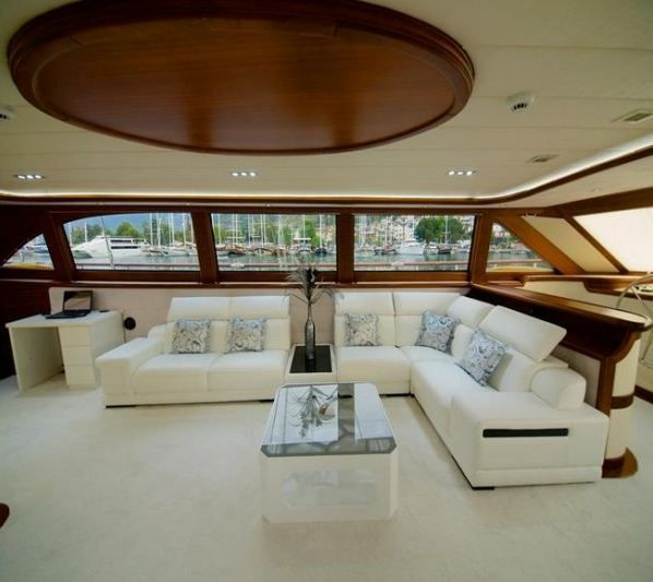 Alessandro Sailboat in Greece - Living room
