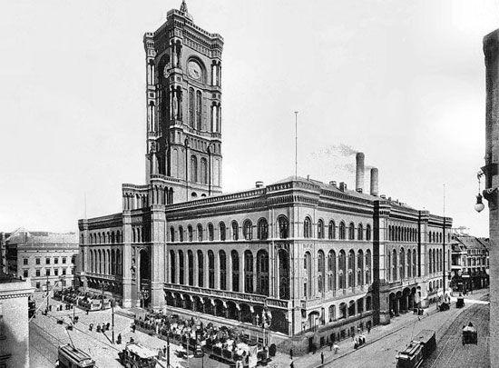 Rotes Rathaus..1925