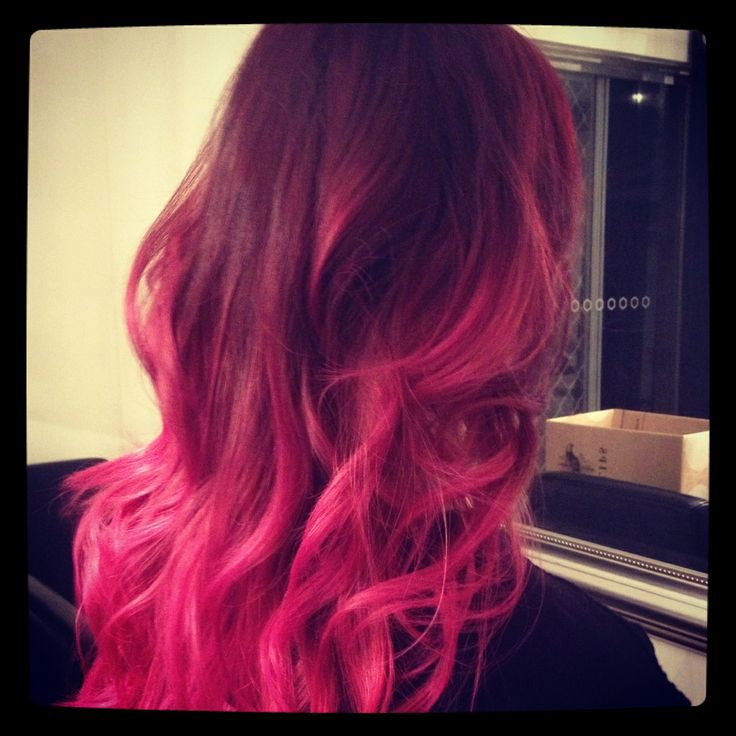 Hair color/ hairstyle / pink purple hair by AmberD